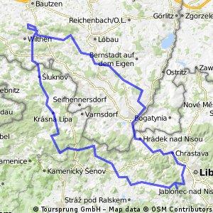 Mö - Herrnhut - ZI - Lib - Jeschken - Schönline - Sohland - Mö