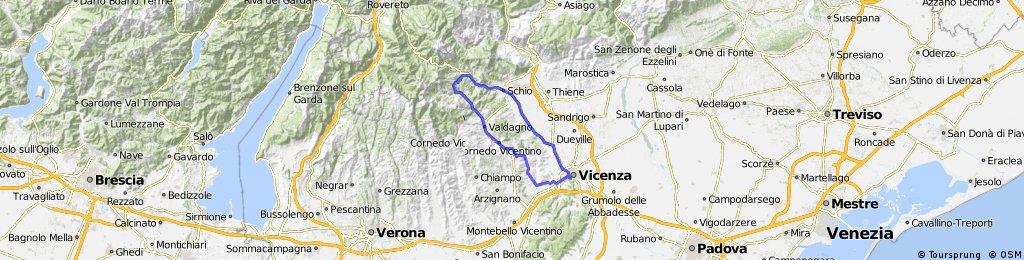Vicenza - Valdagno - Recoaro Terme - Schio - Vicenza