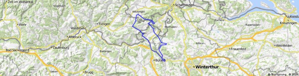 Rorbas-Rorbas über Wilchingen