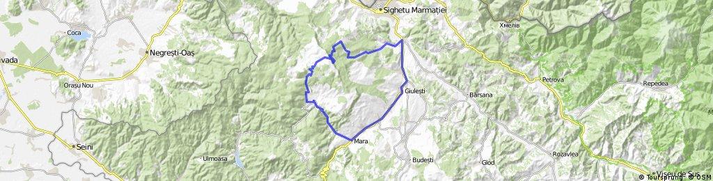 Mara-Vadu Izei-Agris-Cascada Strungi- Strunga Tiganului- Plesca -Runcu -Mara