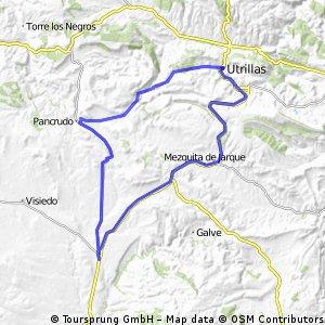 Ruta circular Perales-Las Parras-Utrillas