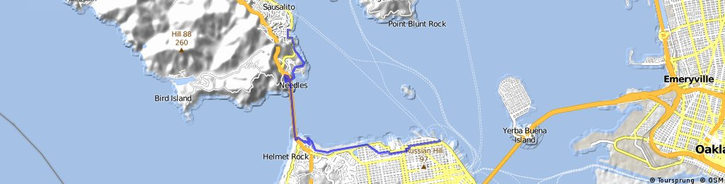 San Francisco - Sausalito