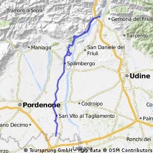 Alpe - Adria Genova - Taglimento