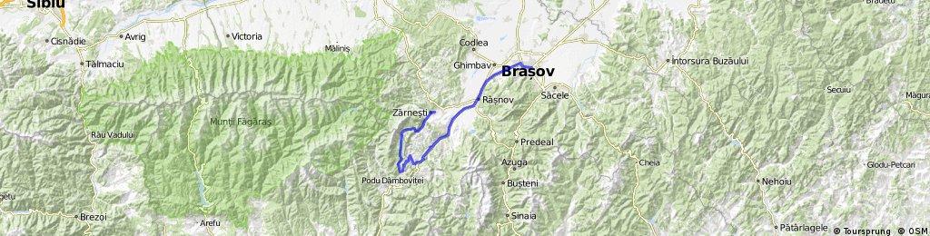 Zarnesti-La Table-Pestera Dambovicioarei-Ciocanu-Sirnea-Moeciu de jos-Bran-Brasov