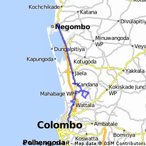 Negombo Route