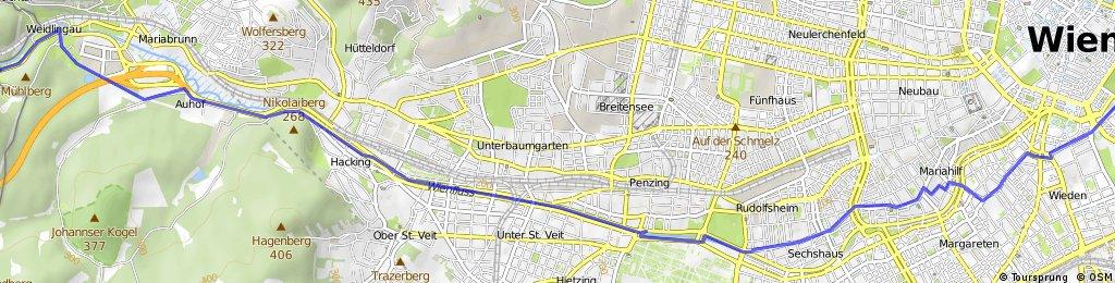 Purkersdorf - Wien Mitte