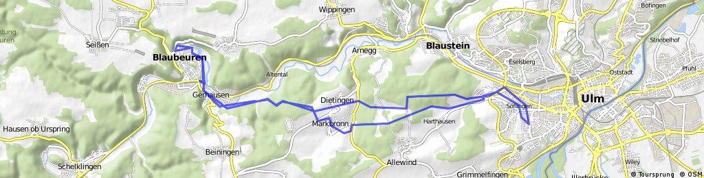 Söflingen - Blautopf mit Pausen