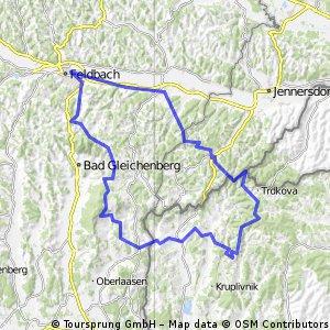 Dreiländereck-Schloß Grad-Brodelsulz-Hochstraden