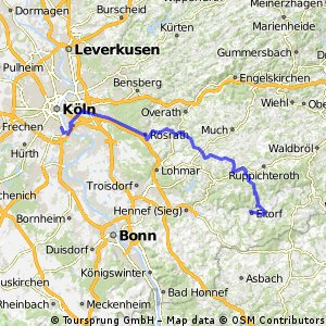 Eitorf-Köln Bayenthal