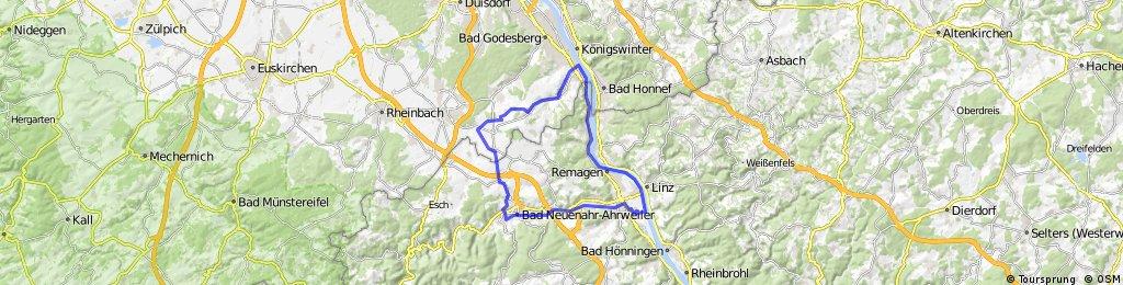 Vatertagsrundtour Ebike Sinzig Melem Bad Neuenahr