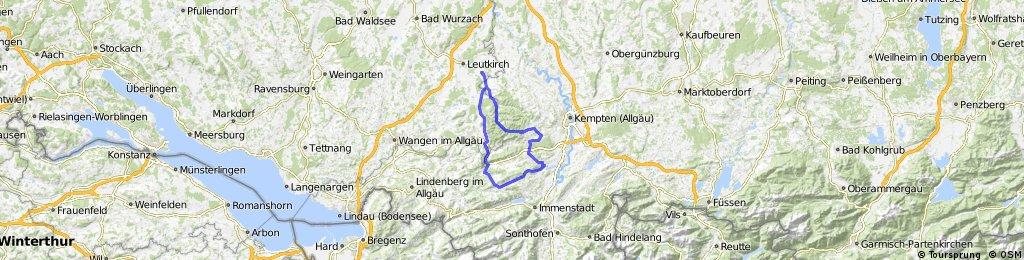Südlich von Leutkirch