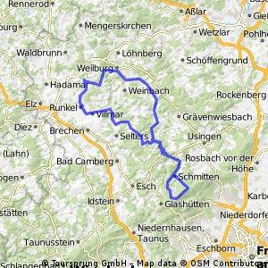 Beselich-Lahn-Feldberg-Weiltal-Weilburg-Beselich