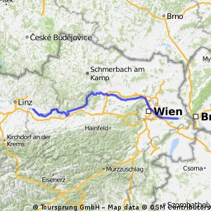 BA --- Au and Donau camp 250km