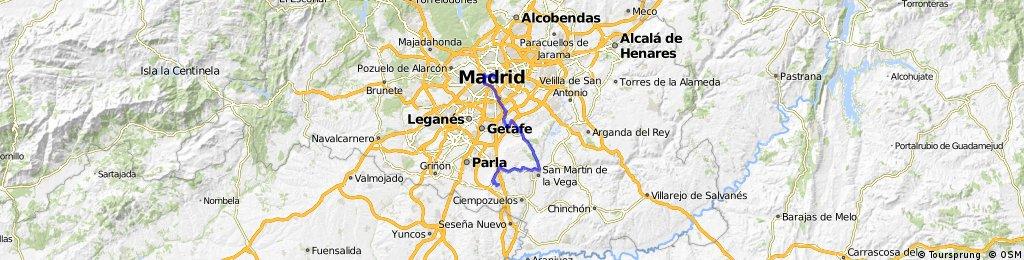 MADRID-LA MARAÑOSA-VALDEMORO