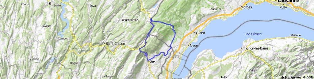Divonne - Col de la Faucille - Col de La Givrine - Divonne