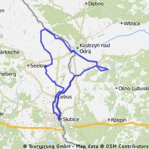 Chartów-Kostrzyn-Frankfurt-Chartów