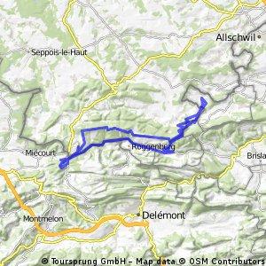 Rodersdorf - Pt Kohlberg - Lucelle - Rämel