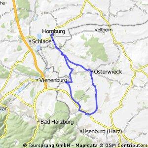 Hornburg - Veckenstedt - Hornburg