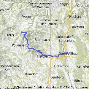 Masenberg -> Markt Allhau