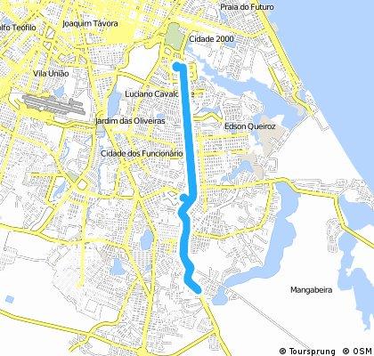 bike tour through Fortaleza