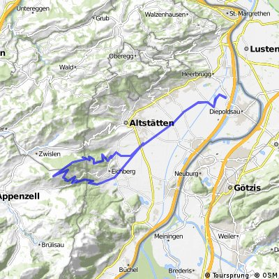 Widnau-Hirschberg-Widnau