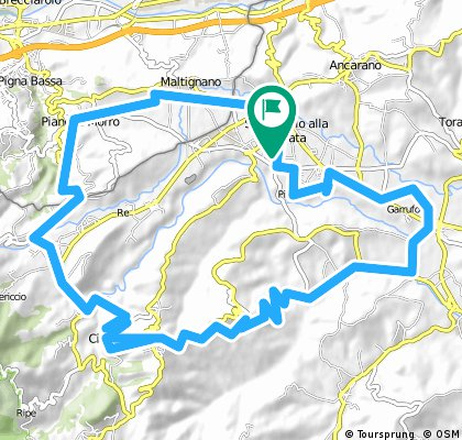 Lengthy bike tour from 7 maggio 08:53