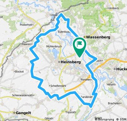 Lange Ausfahrt rund um Heinsberg