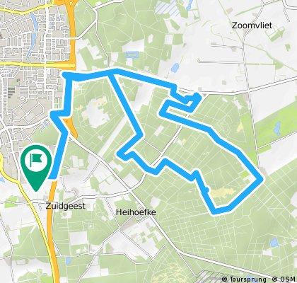 bike tour through Bergen op Zoom