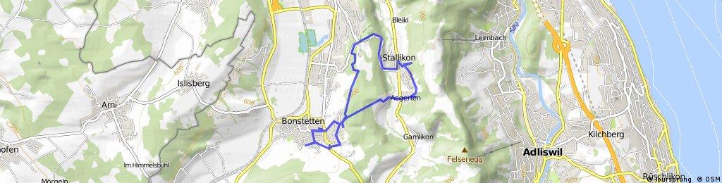 Kurze Radrunde durch Bonstetten