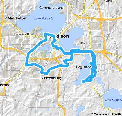 Dunn - Madison Weekend Loop