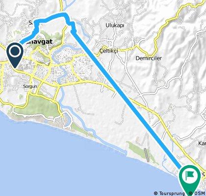 Quick ride from Mimar Sinan to Kızılağaç
