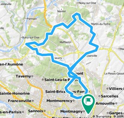TOBOGGAN DU VAL D'OISE - G 56 KMS