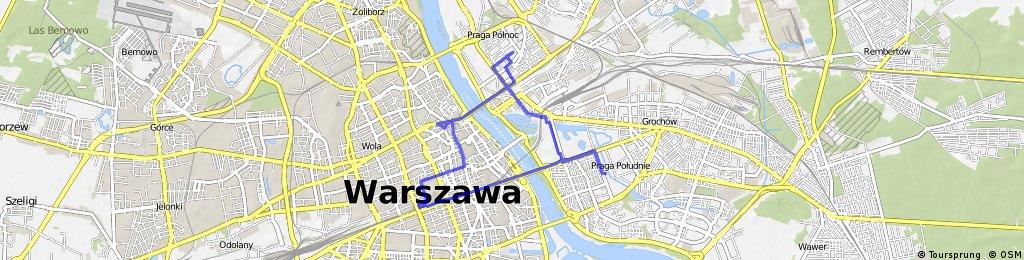 Praga-Północ - Saska Kępa - Złote Tarasy