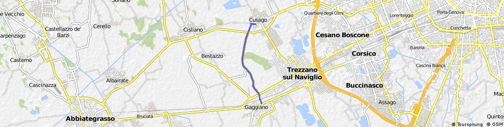 Cusago  -  Naviglio Grande Recording from 7 Maggio 14:37