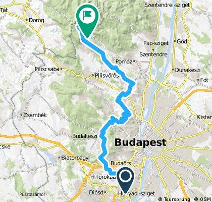 Kamaraerdő - Budaörs - Budai hegyek - Dobogókő