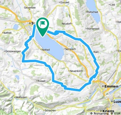 Sempachersee-Route Gross