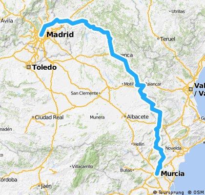 Madrid - Murcia