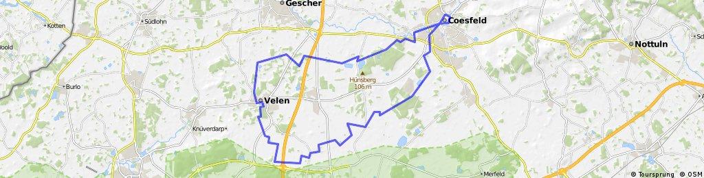 Coesfeld 12 - Schloss Velen-Tour