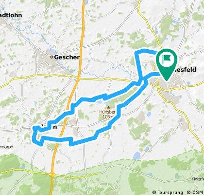 Coesfeld 34 - Gut Ross-Tour