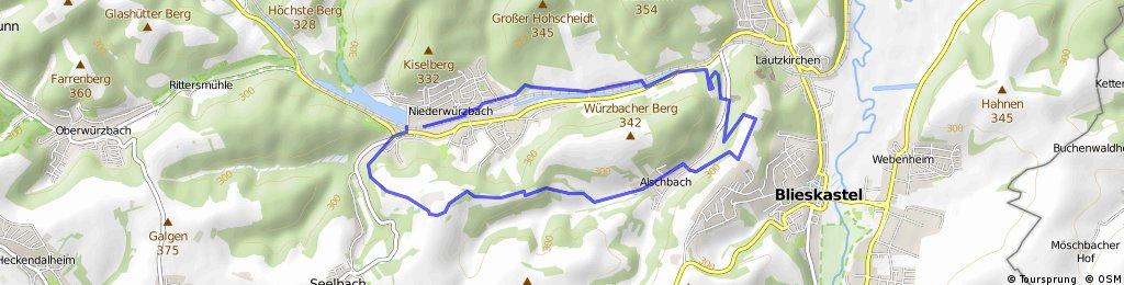 Gollenstein Wanderweg