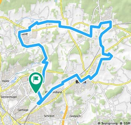 Rundfahrt Dodesheide - Icker