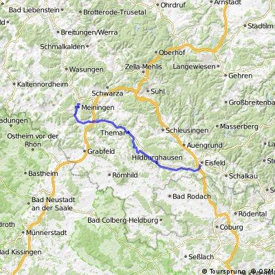 Eisfeld - Meiningen