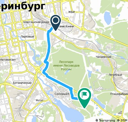Quick bike tour through Yekaterinburg
