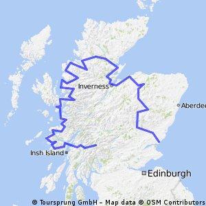 Tour of Scottland (Glasgow - Carnoustie)