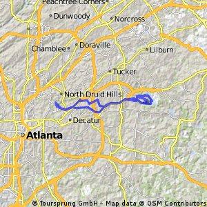 Lengthy ride through Atlanta