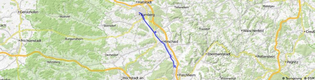 Forchheim - Bamberg - Forchheim