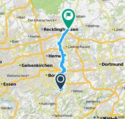 Kemnader See Rhein-Herne Kanal Beckum