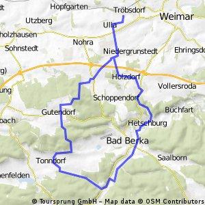 MTB Südwestlich von Weimar