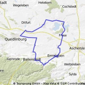 Rundweg um Ermsleben/Meisdorf