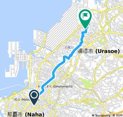 Biking Taiwan Trip in Okinawa, May 2016 - Day 1 Part 1